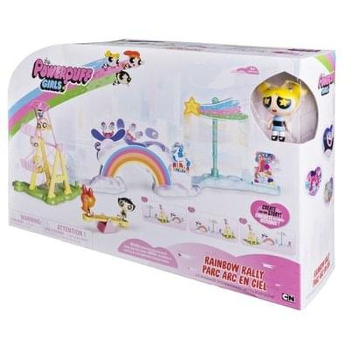 Powerpuff girls playset
