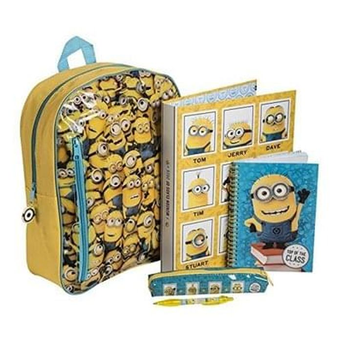 Despicable me backpack set