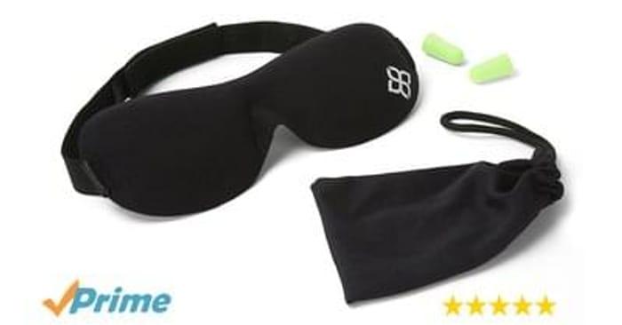Luxury Sleeping Mask And Ear Plugs