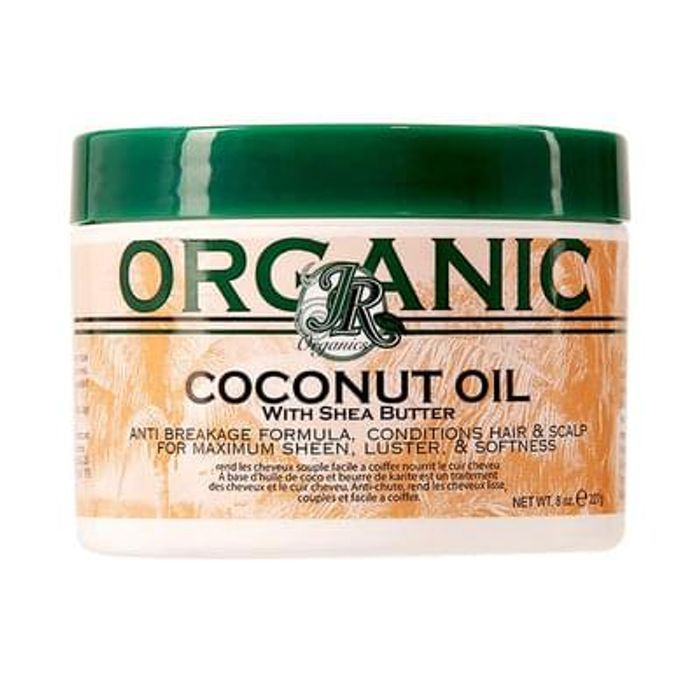 JR Organics Coconut Oil With Shea Butter