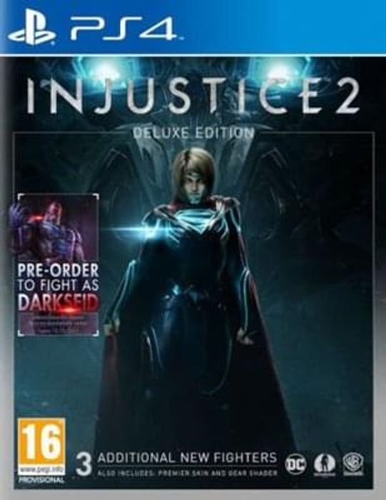 Injustice 2 deluxe edition (PS4) preorder