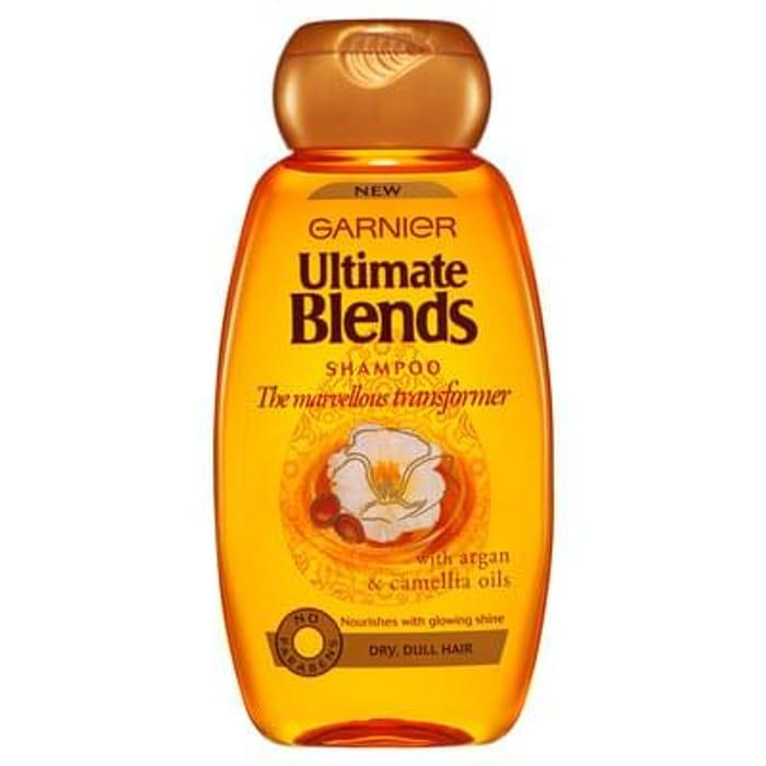 Garnier Ultimate Blends Shampoo - Argan & Camellia Oils 250ml