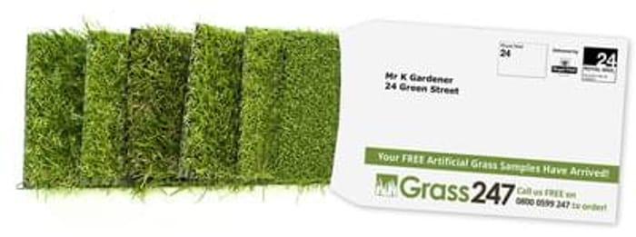 Free artificial grass