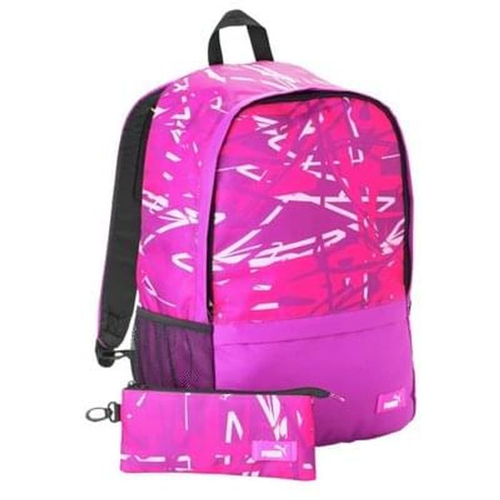 Puma Backpack and Pencil Case - Pink Save £1.50 Free C+C