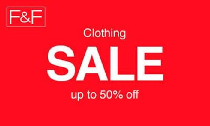 Up to 50% off at Tesco f&f clothing