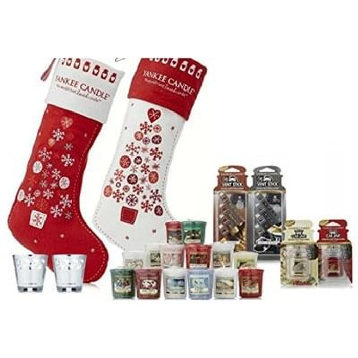Yankee Christmas Stocking Twin Pack