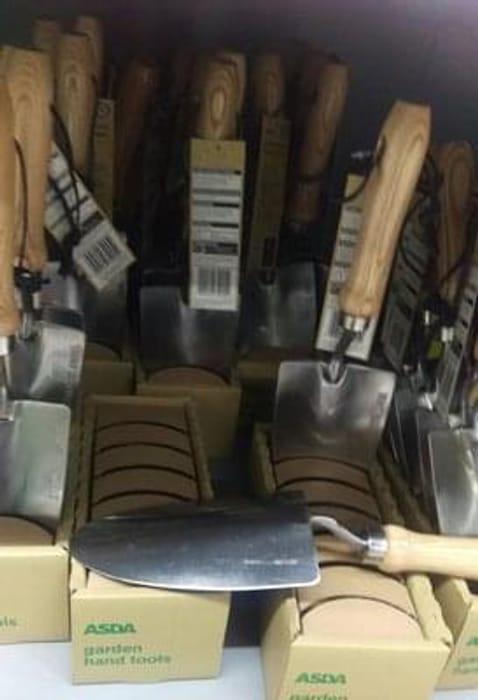 Garden tools starting from 44p at Asda Crawley