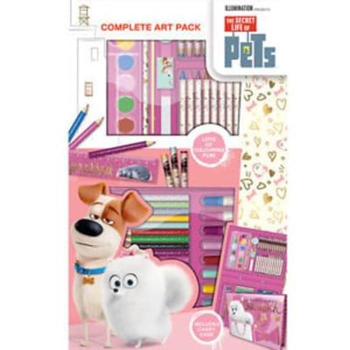 The Secret Life of Pets 68 Piece Art Set