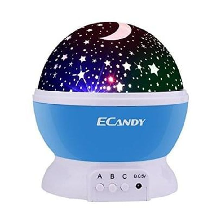 Ecandy 360 Degree Rotating 3 Mode Projector Light Save £25