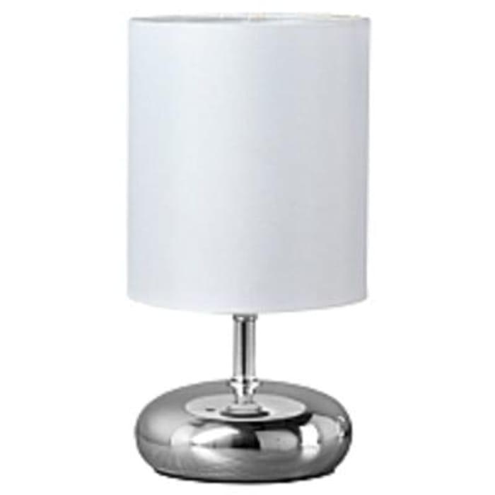 George Home Small Ceramic Pebble Lamp Blue
