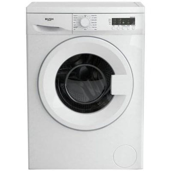 Bush 6KG 1200 Spin Washing Machine Lowest Price Ever Free C+C