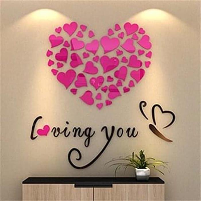 Bluester Wall Stickers, Love Heart