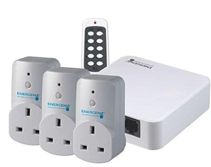 Amazon certified Alexa smart plugs X3 & Control Hub Save £19.64 Free Delivery