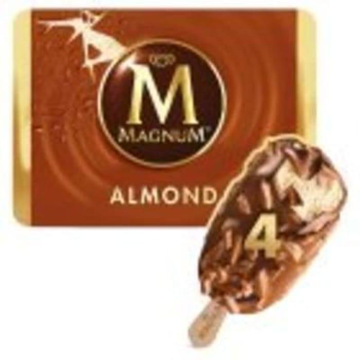 Magnum Ice Cream Almond 4x100ml