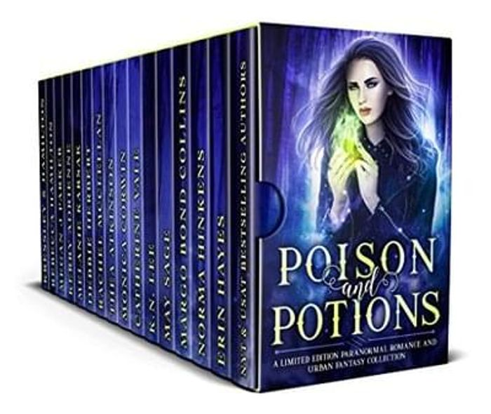 A box set of 10 paranormal books for just £2.29!