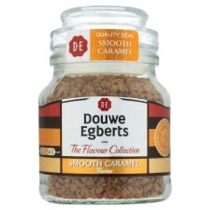 D/Egbert Smooth Caramel Flavoured Instant Coffee 50G