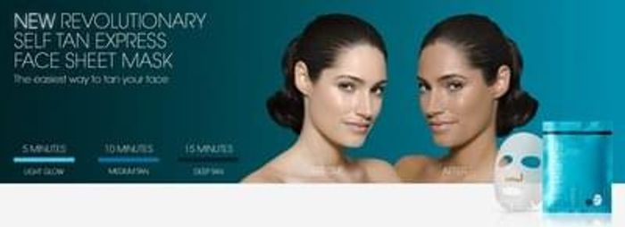Free St Tropez Tanning Face Mask