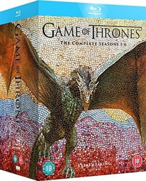 Game of Thrones seasons 1-6 Blu-Ray discount
