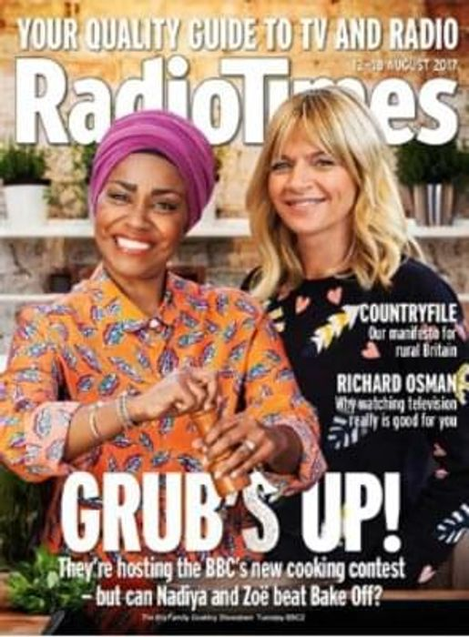 Radio Times Magazine Subscription 10 issues for £1