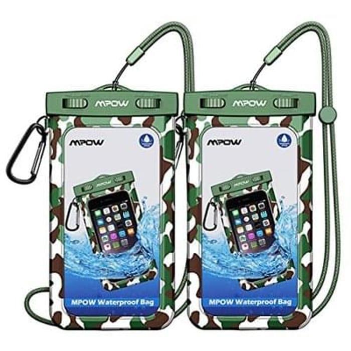 2 x Waterproof bags for Phones