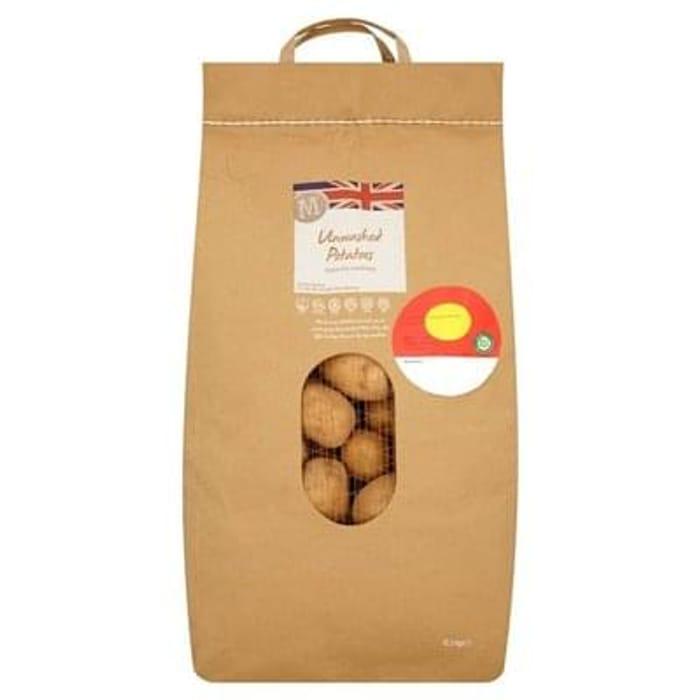 Morrisons Unwashed Potatoes 12.5kg