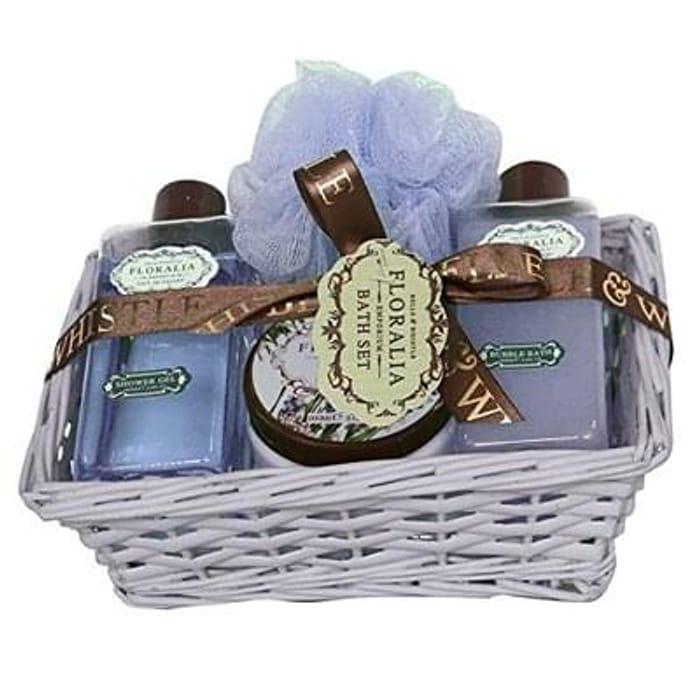 Gloss! Floralia Basket Bath Kit