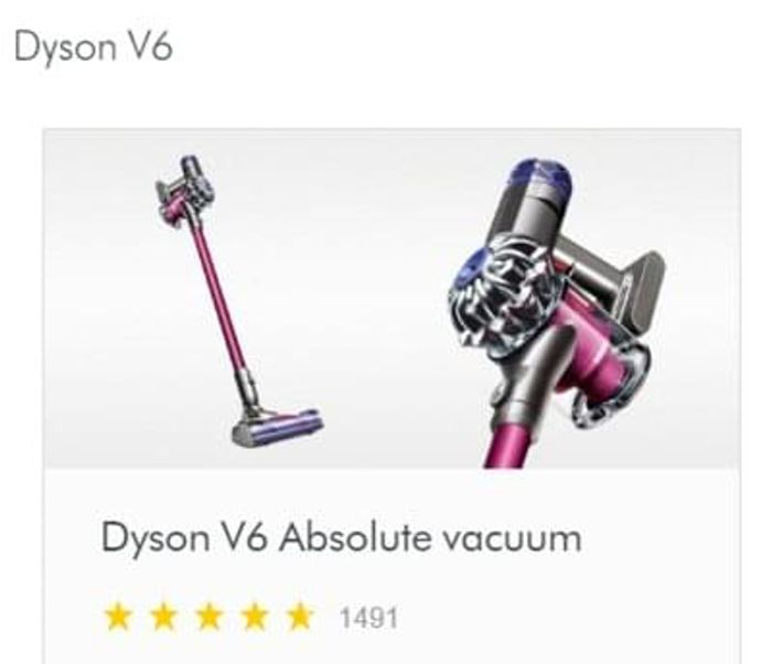 Probably the CHEAPEST EVER Price! Dyson V6 Absolute Cordless Vacuum Cleaner
