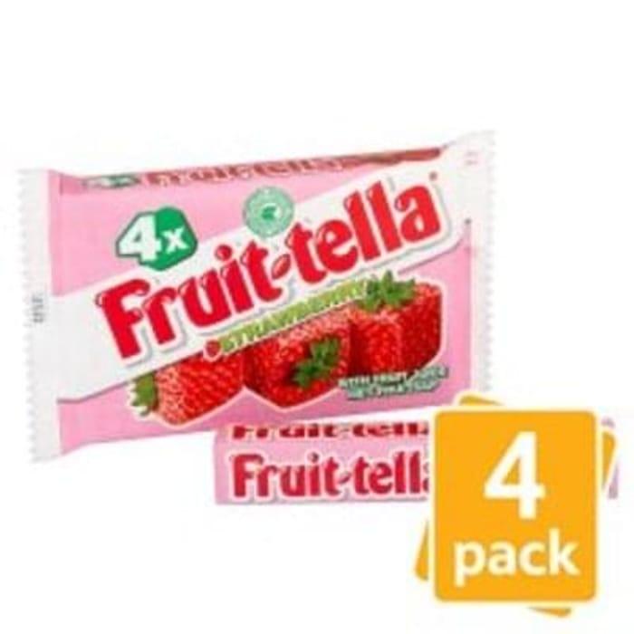 Fruittella Strawberry 4 Pack 164G