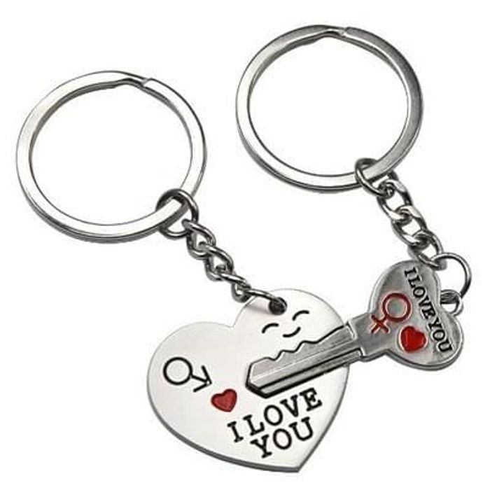 His Her Keychain Keyring Couples - FREE DELIVERY
