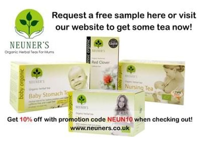 Free herbal tea for mums/ mums to be