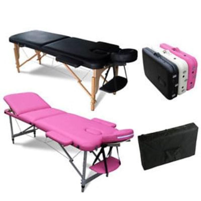 FoxHunter Portable Folding Massage Table Save £25.09 Free Delivery