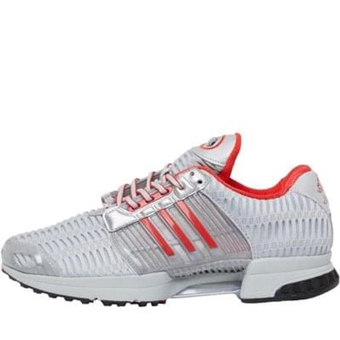 adidas Originals X Coca Cola ClimaCool 1 Trainers Silver Metallic/Red/Core Black