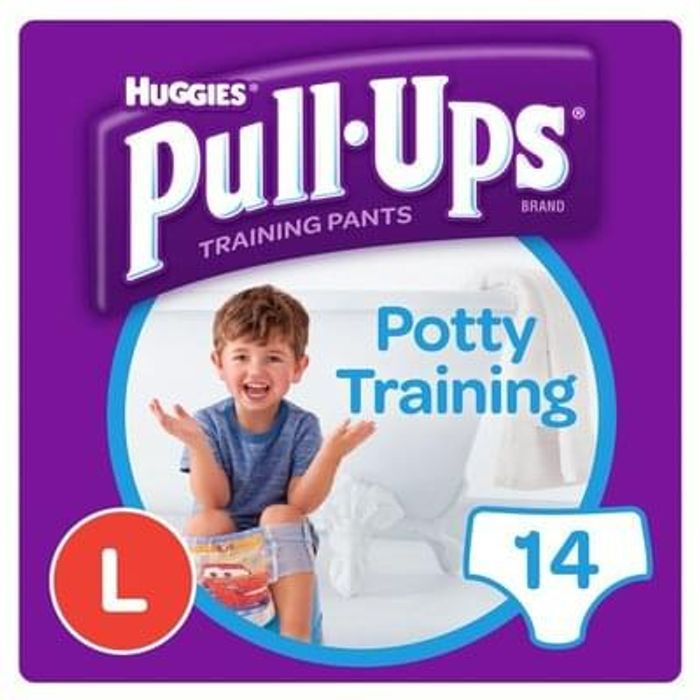 Huggies pull up's free with printable voucher from morrisons