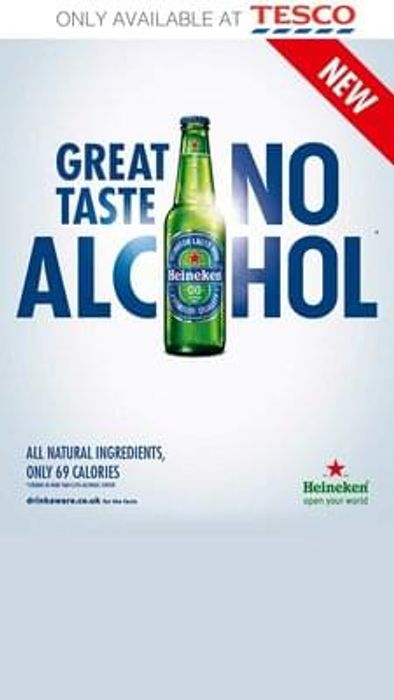4 free bottles of Heineken 0.0 or 6 free cans of same product