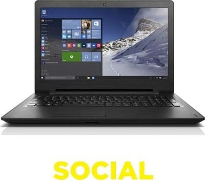 "LENOVO IdeaPad 110 15.6"" Laptop - Black Save £230.01 Free C+C"