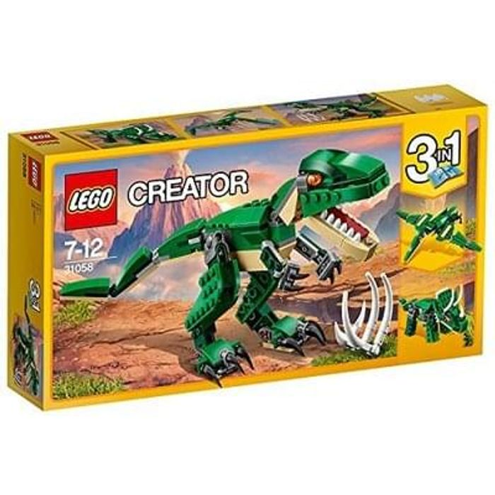 LEGO 3-in-1 Mighty Dinosaurs. Amazon BEST SELLER. (LEGO 31058)