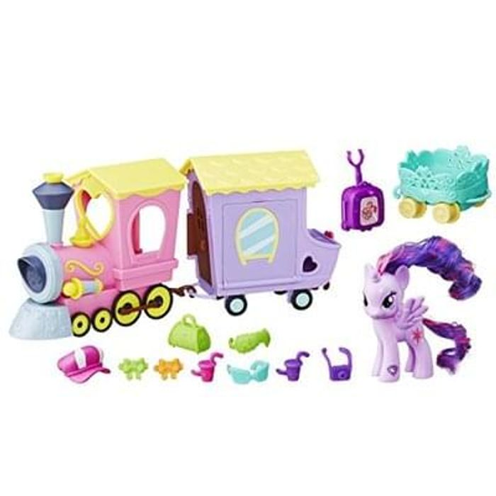 My Little Pony Explore Equestria Friendship Express Train Toy