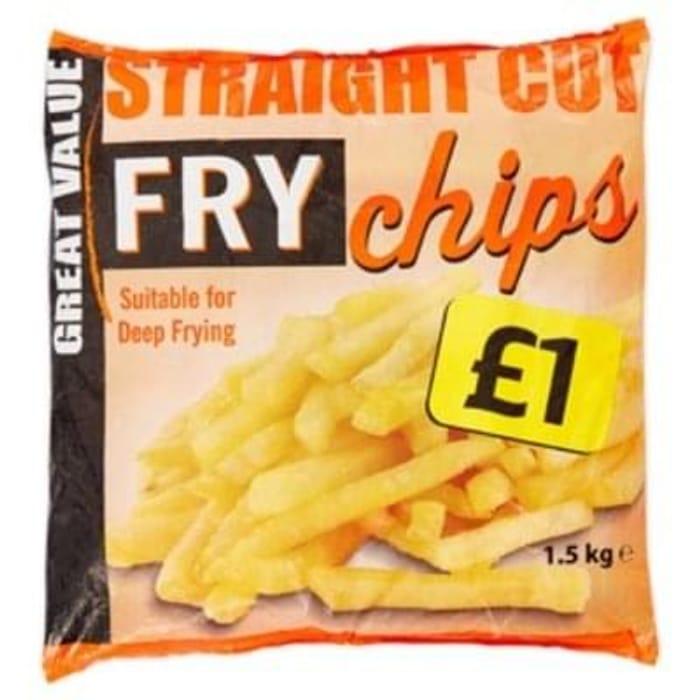 Value Fry Chips 1.5Kg for £1