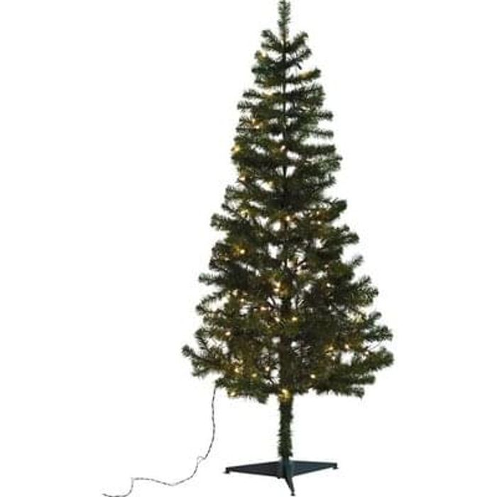 6ft Pre-lit Christmas Tree - Green Lowest Price