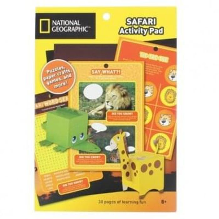 National Geographic Kids Activity pad