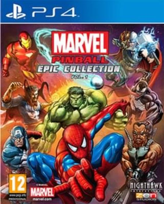 Marvel Pinball Greatest Hits PS4 - £9.99 NEW at Game