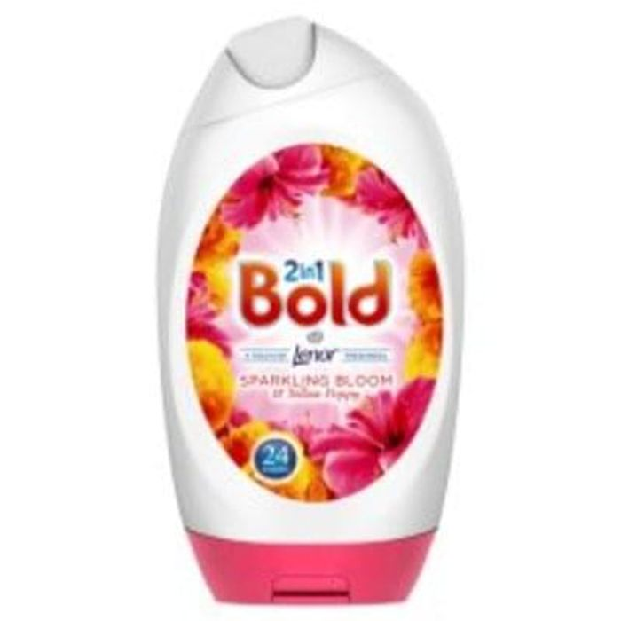 Bold 2 In 1 Bloom And Yellow Poppy 888Ml 3 for £9 at Tesco