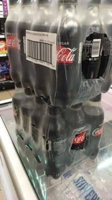 24 bottles of 375ml Coke Zero