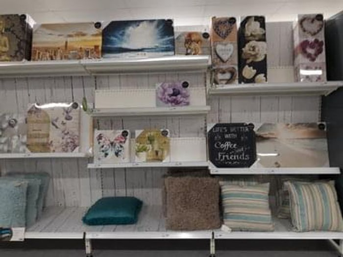 Canvas price slash at Wilko (in-store)