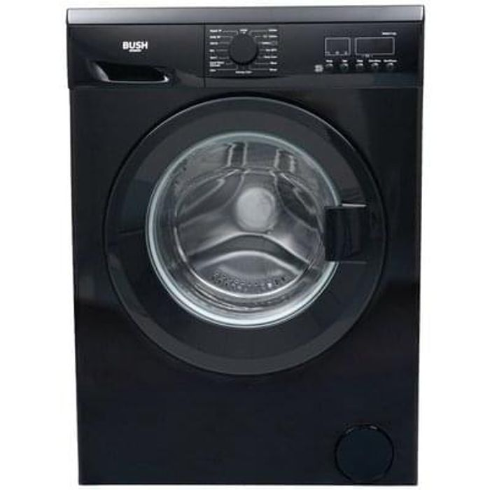 BUSH WMNS714B 7KG 1400 Spin Washing Machine - Black
