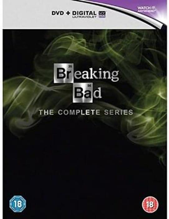 Breaking Bad complete DVD boxset