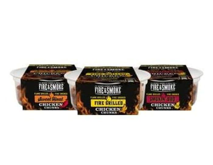 free Fire & Smoke chicken chunks 50g x2!