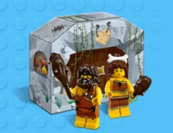 FREE Lego Cavemen set with any £25+ purchase
