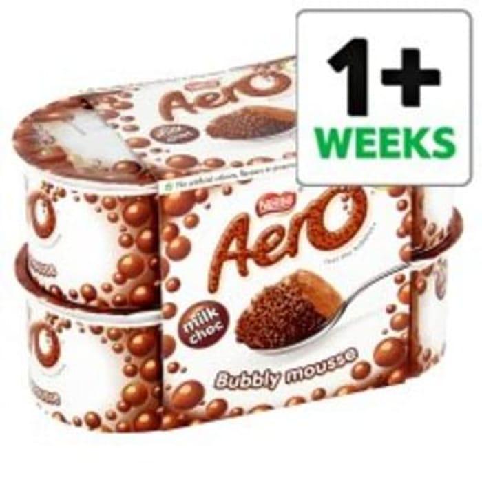 Aero Chocolate Mousse 4 X59g