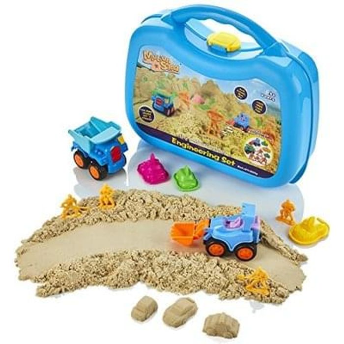 Motion Sand® Engineering Carry Case Playset £6.99 amazon